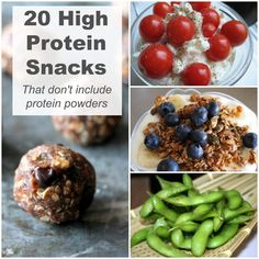 20 High Protein Snack Ideas - The Organized Mom