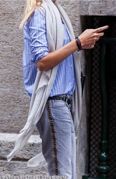 After Alberta Ferretti. Milan Fashion Week SS2015 | via Athens Streetstyle #style #fashion