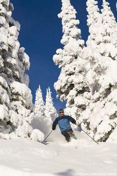 Whitefish Mountain Resort, Whitefish, Montana.