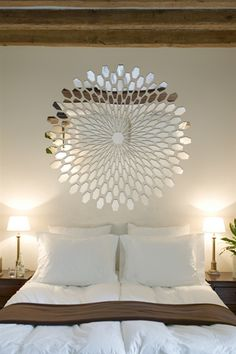 Wall Decals Reflective 3D Mirror, Optical Illusion, Wave, Mirror, Bolt, Dimension.