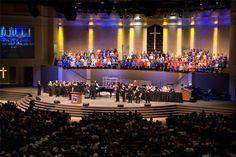 Bell Shoals Baptist Church: Sanctuary | H. J. High Construction