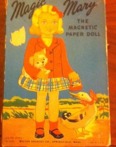 MAGIC-MARY-1948-VINTAGE-PAPER-DOLL-CUT-OUTS-amp-BOX