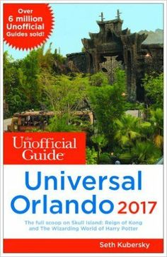 Unofficial Guide Universal Orlando. With its superb touring plan advice, and information about every aspect of the theme parks, dining, hotels, and beyond, this book will really help you get the most out of your Universal vacation. {affiliate}