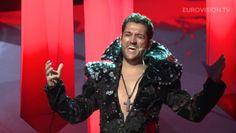 EUROVISION 2013: Cezar Ouatu, moment jenant la finalul piesei