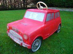 Rare 1960s Leeway Mini Pedal Car Barn Find / Not triang