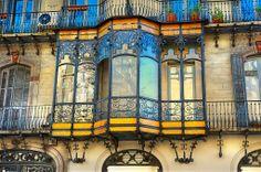 Casa Oller Balcony - Barcelona, Spain - Photo by Carlos Lorenzo