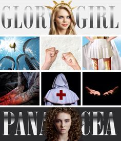 Glory Girl and Panacea Usa Health, Superhero Series, The Last Unicorn, Story Characters, Fantasy Series, Worms, Wall Collage, Book Art, Take That