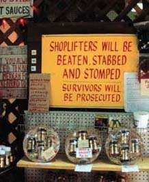 Very Clever Shoplifting Signs Words Can Hurt, Very Clever, Smosh, Funny As Hell, Lessons For Kids, Sign I, Funny Signs, Along The Way, Laugh Out Loud