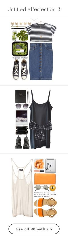 """""""Untitled #Perfection 3"""" by lisageurts ❤ liked on Polyvore featuring Converse, Forever 21, Current/Elliott, NARS Cosmetics, Maison Margiela, prettybasic, American Vintage, 3.1 Phillip Lim, ASOS and Polaroid"""