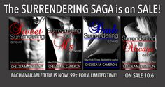 Books Need TLC: Surrendering Saga #Sale  #99cents @chel_c_cam @Ink...