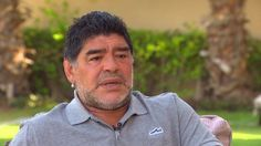 CNN's Becky Anderson sits down with Argentine football legend Diego Maradona to get his views on FIFA and the race to unseat Sepp Blatter.