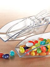 4-Piece Scoop Set - See-through scoops measure, too | Solutions