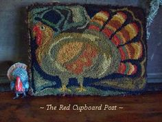 ~ The Red Cupboard Post ~punchneedle tom
