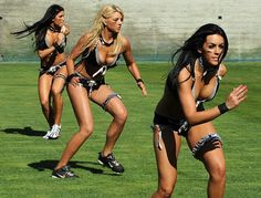 x games womans football | New Photos Of The Ladies Lingerie Football Super Bowl Game Today in LA ...