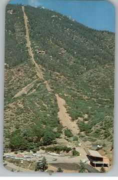 The Incline in Manitou Springs, CO near Colorado Springs. The longest, steepest mile I've ever hiked