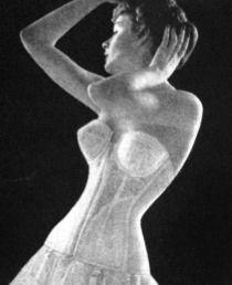 1950s corset and crinolines