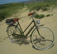 As my bicycle Lucy 3-Speed  is a prototypical vintage Raleigh Lady's Sports, I initially did not see any need to review her. But in the end...