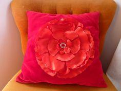 born again creations: 17. Vintage Velvet Cushion