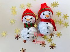 Como tejer muñeco de nieve amigurumis by Petus - YouTube Crochet Snowman, Christmas Crochet Patterns, Crochet Winter, Christmas Crafts, Christmas Ornaments, Knitting Stitches, Cute Kids, Diy And Crafts, Merry