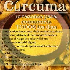 Curcuma beneficios