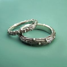 Pretty sure that we don't need new wedding bands, but I love these.