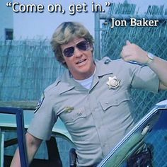 "MofaさんはInstagramを利用しています:「─ ""CHiPs"" Season 2-9 . All right! . #chipsquotes #CHiPs #jonbaker #larrywilcox #chipsquoteoftheday」 All Right, Larry Wilcox, California Highway Patrol, Disney Pictures, Season 2, Quote Of The Day, Tv Shows, Dream Wedding, Funny Quotes"