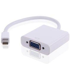 Cabo Adaptador Mini Displayport Thunderbolt para VGA Super Gadgets http://www.supergadgets.com.br/audio-e-video/cabos-e-conversores/cabo-adaptador-mini-displayport-thunderbolt-para-vga #macbookpro #macbook #thunderbolt #minidisplayport #macbookair #air #mac #supergadgets #videoout #supergadgets #macgadgets #praticidade #custobeneficio #promoção