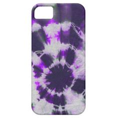 Tye Dye Composition #1 by Michael Moffa iPhone 5 Cases