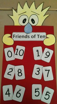 Friends of Ten Classroom Poster