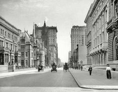 NYC was much less of a busy city, 1908.