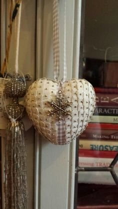 Polystyrene and sequin christmas ornament