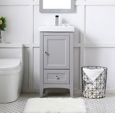 Vanity Set, Small Vanity, Single Bathroom Vanity, Single Vanities, Best Bathroom Vanities, Small Bathroom Vanities, Bathroom Makeovers, Small Bathroom Sink Cabinet, Painted Bathroom Cabinets