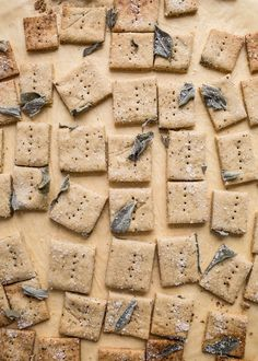 Simple and delicious, these Savory Oat Crackers are gluten-free and can be made with fresh or dried herbs. Vegan and dairy-free option included.