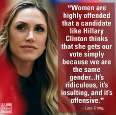 Don't vote only because of gender