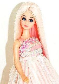 Vintage 1970's Dawn Doll