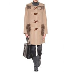 marc jacobs toggle coat shearling - Google Search