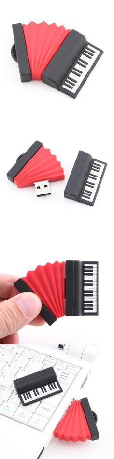 Cute Music Instrument Style USB Flash Drive #duplication #easyreplication #USBDrives https://www.easyreplication.co.uk/