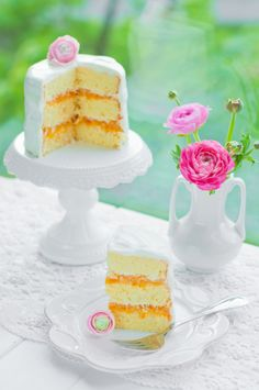 Mini Cakes inspiration for High Tea Party, Bridal and or Baby Showers. Pretty Cakes, Beautiful Cakes, Amazing Cakes, Cupcakes, Cupcake Cakes, Baby Cakes, Tea Cakes, Girly, Macaron