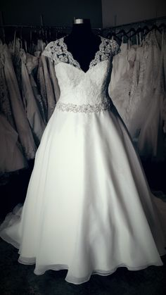 1000 Images About In Stock Plus Size Wedding Dresses On Pinterest