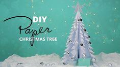 How to make a paper Christmas Tree Diy Paper, Christmas Diy, How To Make, Home Decor, Decoration Home, Room Decor, Home Interior Design, Homemade Christmas, Diy Christmas