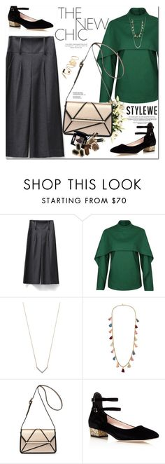 """""""Stylewe"""" by oshint ❤ liked on Polyvore featuring Adina Reyter, Ben-Amun, Kate Spade and BP."""