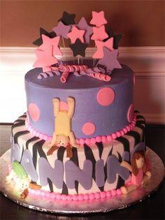 Gymnastics cake! OMG! I love!
