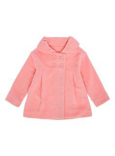 Baby Girls Pink Fleece Jacket (0-24 months) | Tu clothing