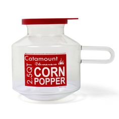 Microwave Air Popper.  Make microwave popcorn without the bag, chemicals, or fat.