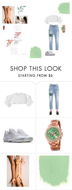 """""""Untitled #21"""" by emeraldrosesunday on Polyvore featuring D&G, Gucci, NIKE and August Steiner"""