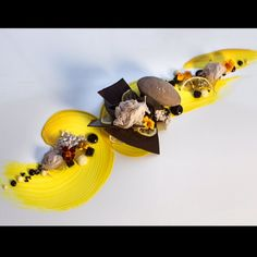 New restaurant, new CRAZY ONE dessert!! Intense Japanese Yuzu, @Valrhona Chocolate and a pinch of sea salt.. This combination is just so good for me.. Come along at 117 dinning restaurant Tuesday to Saturday for a charming experience. #ihgfoodie #interconsydney #intercontinentalsydney #117dining #foodism #foodie #foodblogger #yuzy #darkchocolate #valrhona #sogood #seasalt #magic #picoftheday #instadaily #pastrychef #teamwork #yummy #simon_veauvy only made with lovesimon_veauvy