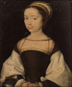 Unknown woman, c.1536, by Corneille de Lyon