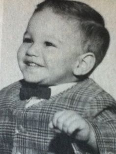 Ralph Macchio as a baby<<Its baby Johnny!