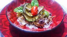 Cozinha Simples da Deia: Spagueteti Integral ao estilo Ratatouille