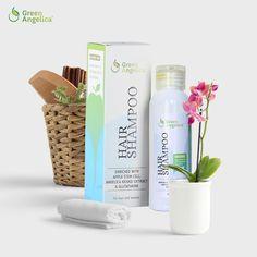 Hair Shampoo Green Angelica merupakan shampo alami yang diformulasikan  untuk mencegah rambut rontok dan mempercepat pertumbuhan rambut secara alami . d0d4626a46